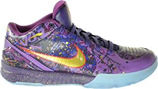 Zoom Kobe IV Prelude Men's Basketball Shoes Court Purple/Metallic Gold-Purple Venom 639693-500