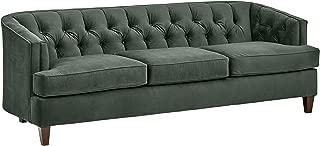 Stone & Beam Leila Tufted Velvet Living Room Sofa Couch, 88