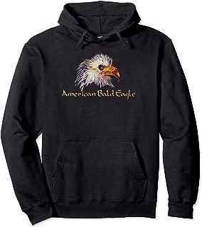 American Bald Eagle Pullover Hoodie