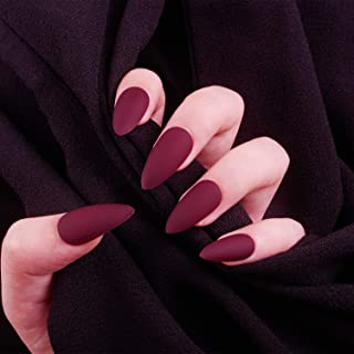 Best red almond nails Reviews