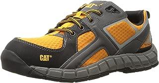 Caterpillar Men's Gain Steel Toe / Orange Work Shoe