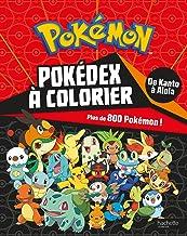 Livres Pokémon - Pokédex de Kanto à Alola à colorier PDF