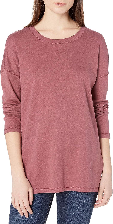 Amazon Brand - Goodthreads Women's Cotton Interlock Side Slit Tunic