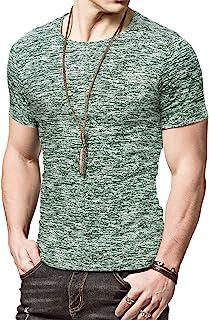 Sponsored Ad - KUYIGO Mens Active School Running Shirt Gym Workout Quick Dry Crew Neck Short Sleeve Tops