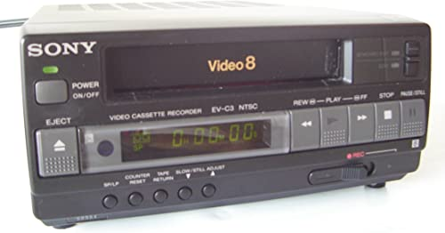 Sony EV-C3 Compact Video 8 VCR product image