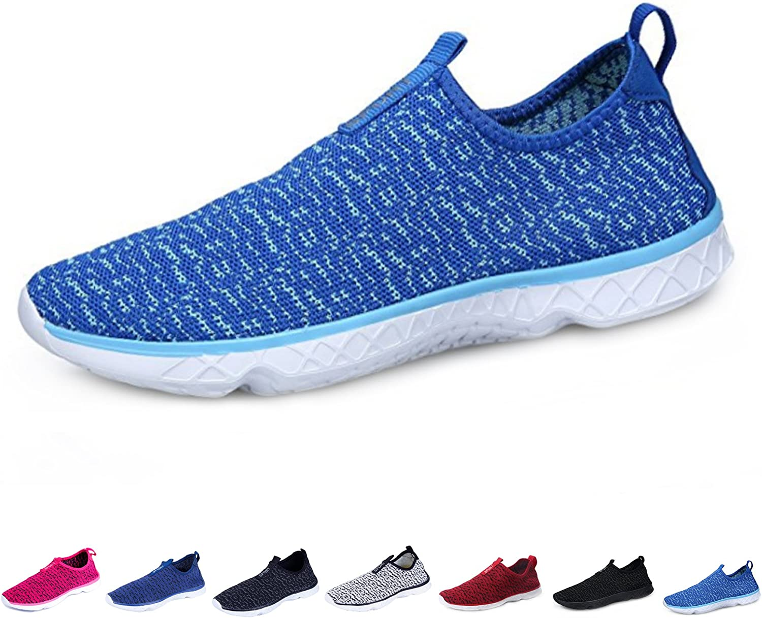 Kealux Men Women Lightweight Water shoes Walking Sneaker Quick-Dry Water Sport Barefoot shoes