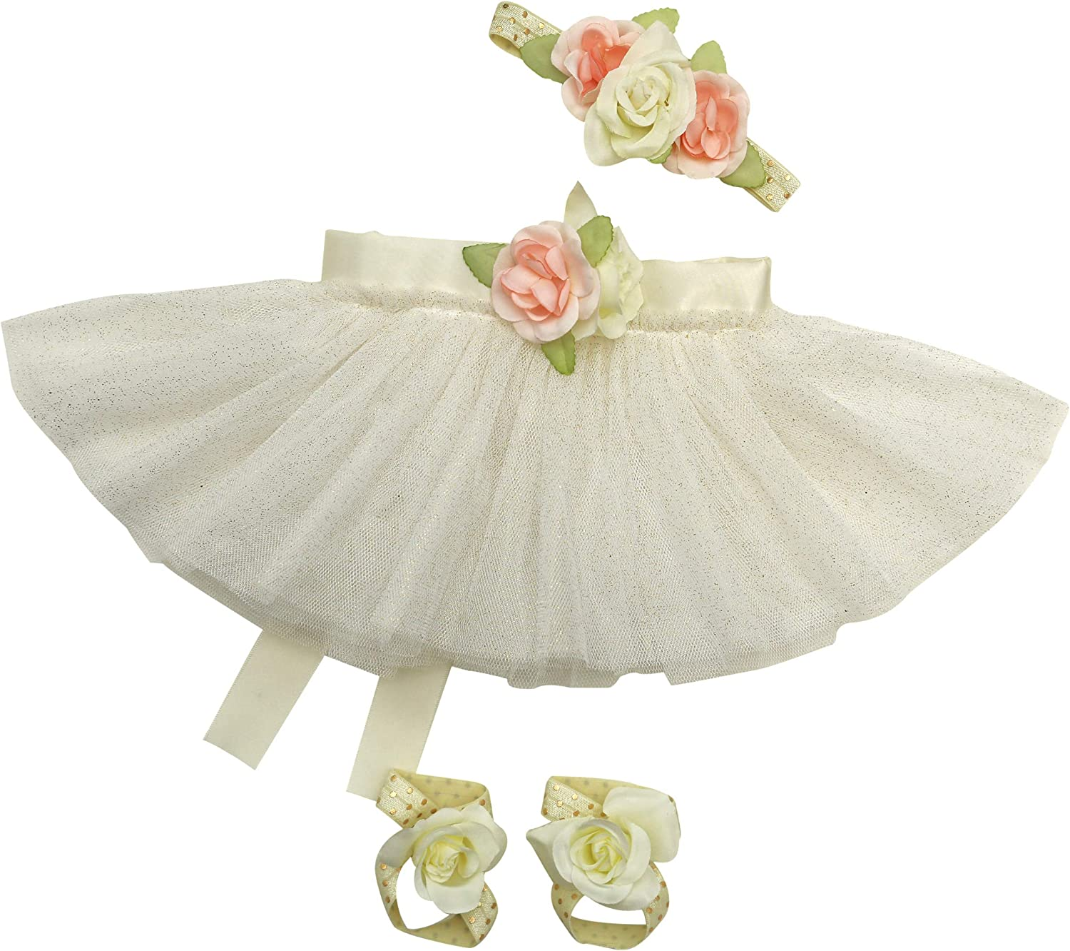 Newborn Baby Girl Tutu Set Skirt with Headband Photography Prop Outfit Clothes