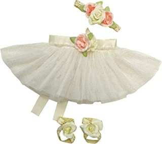 04f995b6bcff Newborn Baby Girl Tutu Set Skirt with Headband Photography Prop Outfit  Clothes