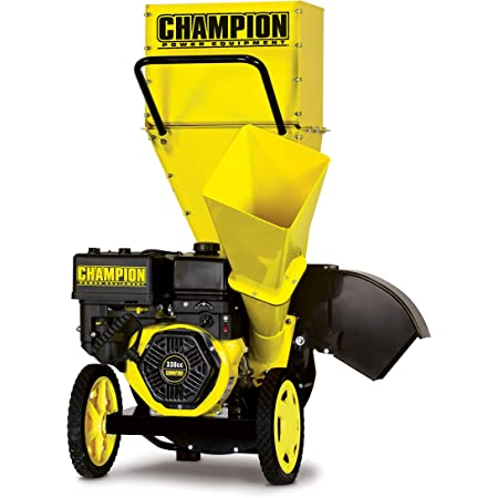 CHAMPION POWER EQUIPMENT 3-Inch Portable Chipper-Shredder with Collection Bag