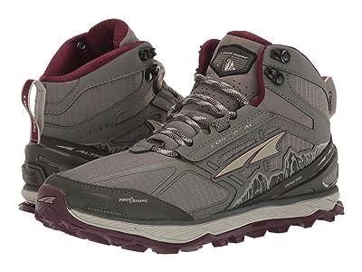 Altra Footwear Lone Peak 4 Mid Mesh (Olive/Dark Port) Women