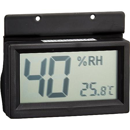 東洋リビング 防湿庫オプション デジタル温湿度計 ブラック OP-AD-HD-BK