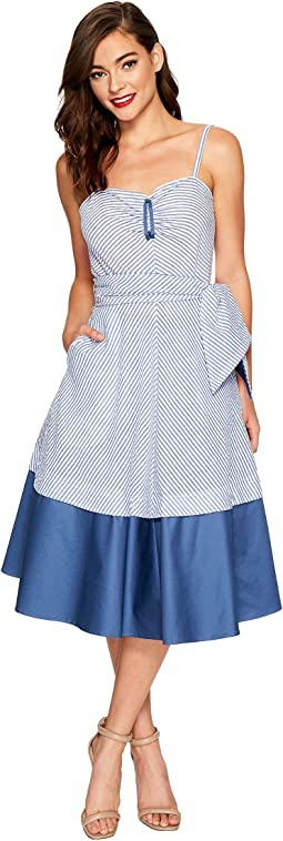 Unique Vintage - Lonestar Swing Dress