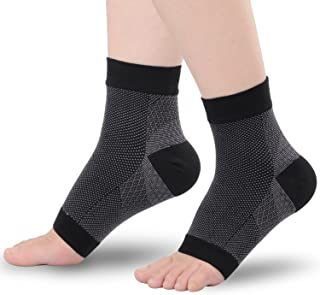 TOPLUS Fasciitis Compression Socks,Compression Foot Sleeve for Ankle/Heel Foot SupportShaping, Weight Loss