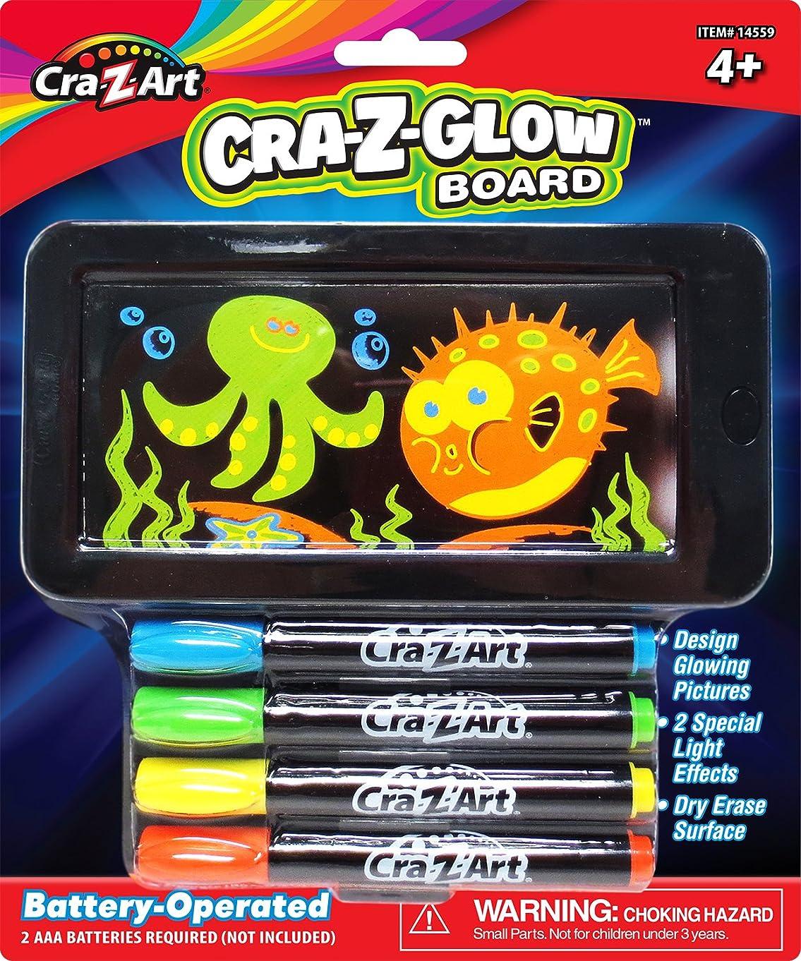 Cra-Z-Art Lite Up Flat Screen Dry Erase  Mini Small Glow  Board New 2.75 x 5.5