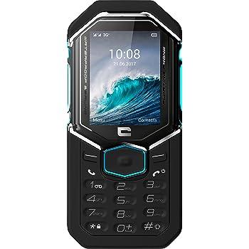Crosscall Shark-X3 Téléphone portable débloqué 3G+ (Ecran: 2,4 pouces - 64 Go ROM - Single SIM) Noir