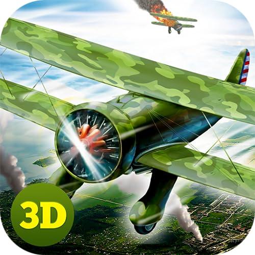 WW1 Flying Ace Academy Game: Pilot Airplane Simulator | Aerial Combat Fleet...