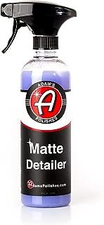 matte finish car paint care