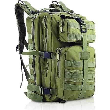 Trekking Escursionismo Pesca e Caccia 30L Zaino Militare Tattico Zaino da Trekking Militare da Assalto Militare Impermeabile per Campeggio allaperto