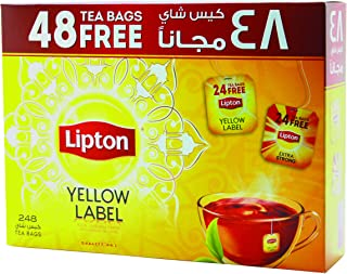 Lipton Yellow Label Black Tea Bags, 248 count
