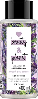Love Beauty and Planet Conditioner Argan Oil and Lavender, 400ml