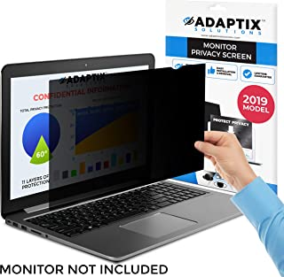 "Laptop Privacy Screen 13.3"" – Information Protection Privacy Filter for Laptop – Anti-Glare, Anti-Scratch, Blocks 96% UV – Matte or Gloss Finish Privacy Screen Protector – 16:10 by Adaptix (APS13.3W)"