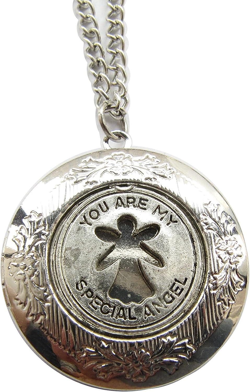 Angel quality assurance Superior Locket Necklace Jewelry Neckla