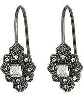 LAUREN Ralph Lauren - Estate Small Stone Drop Earrings