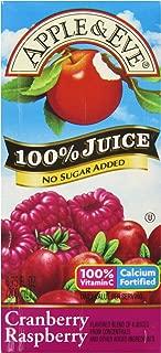 Apple & Eve 100% Cranberry Raspberry Juice, 6.75 fl oz,40 count