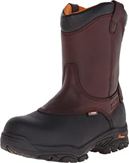 Men's Wellington 8 Inch Safety Toe Work Boot