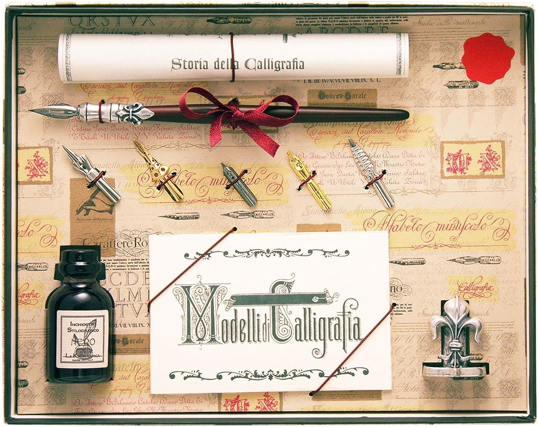 Coles Kalligraphie aus Holzfüller mit mit mit 5 Federn, Tinte und Haltersortiment entwickelt B00LWW50TG | Stilvoll und lustig  331d28