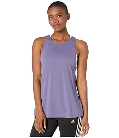 adidas Designed 2 Move Brand Tank Top (Tech Purple/Tech Purple) Women