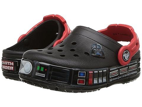 ab9be45851d41a Crocs Kids Crocband Fun Lab Darth Vader Lights Clog (Toddler Little Kid)