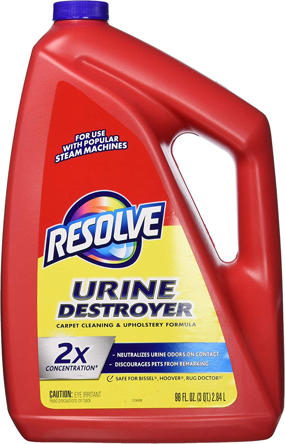 Resolve Carpet 2X Concentrate Urine for Max 80% OFF Destroyer Max 61% OFF steam