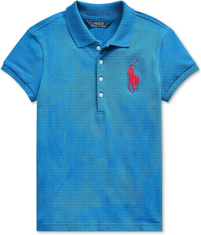 Ralph New York Mall Lauren Girls Big Pony 2 Blue 2T Polo Ranking TOP2 Shirt