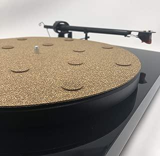 CoRkErY Decoupled Cork N Rubber Turntable Platter Mat | 1/8