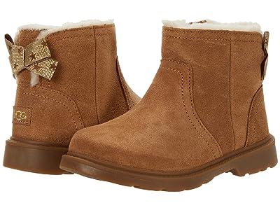 UGG Kids Lynde (Toddler/Little Kid) (Chestnut) Girls Shoes