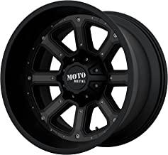 MOTO METAL MO984 Shift 20x10 5X5/5.5 -24 Black/Black Inserts (Qty of 1)