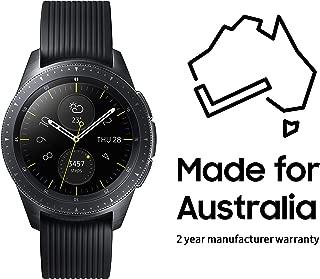 Samsung SM-R810NZKAXSA Smart Watch Galaxy Watch (42mm) Black (Australian Version) with 2 Year Manufacturer Warranty, Black