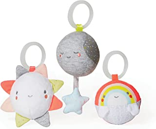 Skip Hop Silver Lining Cloud Ball Trip Activity Baby Toy 3 Piece Set