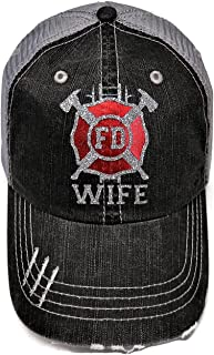 Best firefighter wife hat Reviews