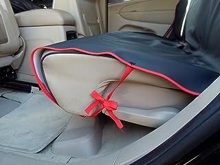 APLUS Coprisedile Anteriore Singolo Versione aggiornata /– Anti-crollo Coprisedile per Cane Coperta Telo Universale per Proteggere Sedile di Automobile Coprisedile Antiscivolo Impermeabile