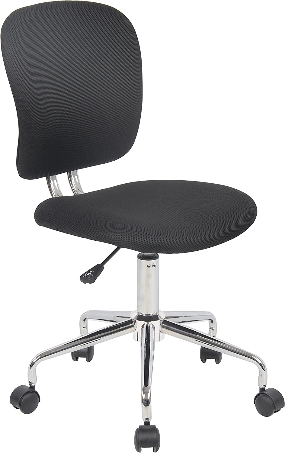 Porthos Home GKC012A BLK Grace Adjustable Office Chair Black