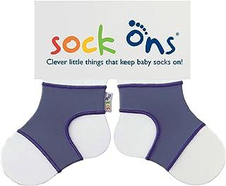 Sock Ons Petites choses intelligentes qui gardent les chaussettes de bébé! - 0-6 Moiss