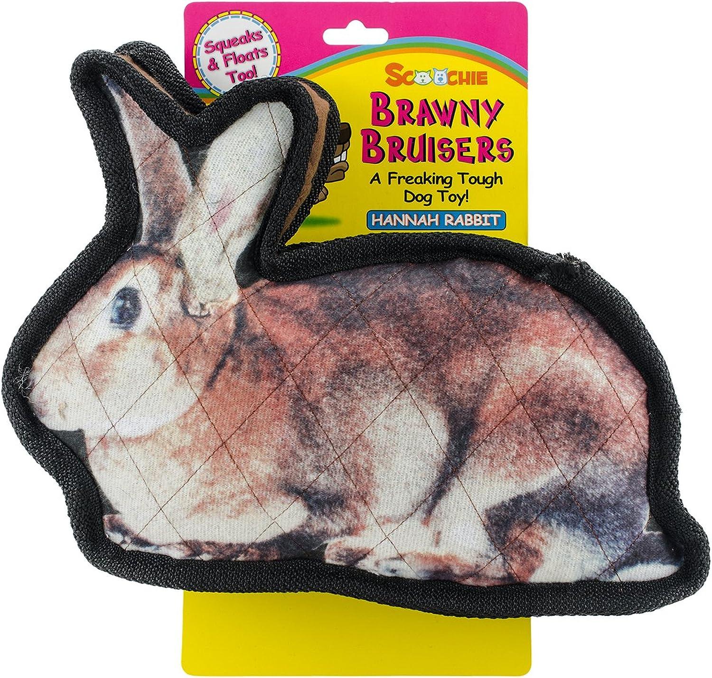 Brawny Bruisers Hannah Rabbit Dog Toy 11