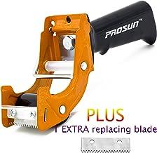 PROSUN Fast Reload 2 Inch Tape Gun Dispenser Packing Packaging Sealing Cutter Orange
