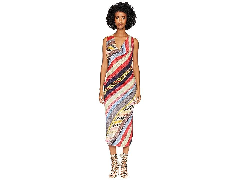 Vivienne Westwood Virginia Velvet Cowl Neck Dress (Multi) Women