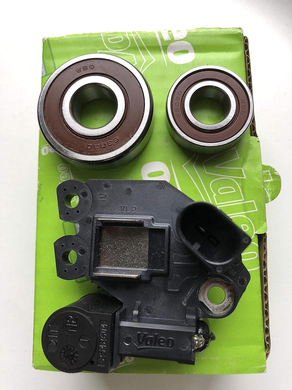 New Alternator Voltage Max 90% OFF Regulator with trust Ki Bearings Brushes Repair