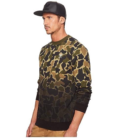 Adidas Originals Camo Multicolor Camo Crew Adidas Crew Multicolor Adidas Originals Originals qRT6RO