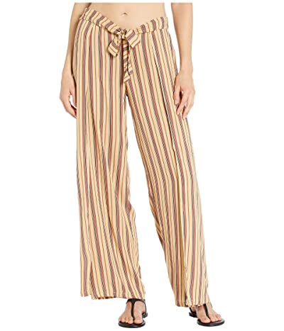 BECCA by Rebecca Virtue South Hampton Stripe Mock Wrap Pants Cover-Up (Multi) Women