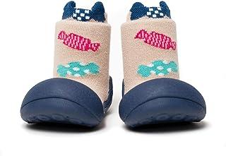 [Attipas] アティパス ベビーシューズ Candy (キャンディー) 男の子・女の子/洗濯機OK・速乾 軽量 裸足に近い ファーストシューズ プレシューズ/水遊びOK 公園 お出かけ 出産祝い 生後5か月から 足の保護